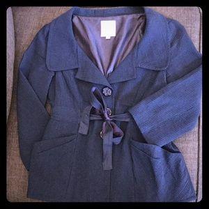 Nanette Lepore Navy Blue Blazer sz 0